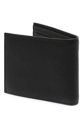 Мужской кожаное портмоне icon DSQUARED2 черно-белого цвета, арт. WAM0015 12903205 | Фото 2