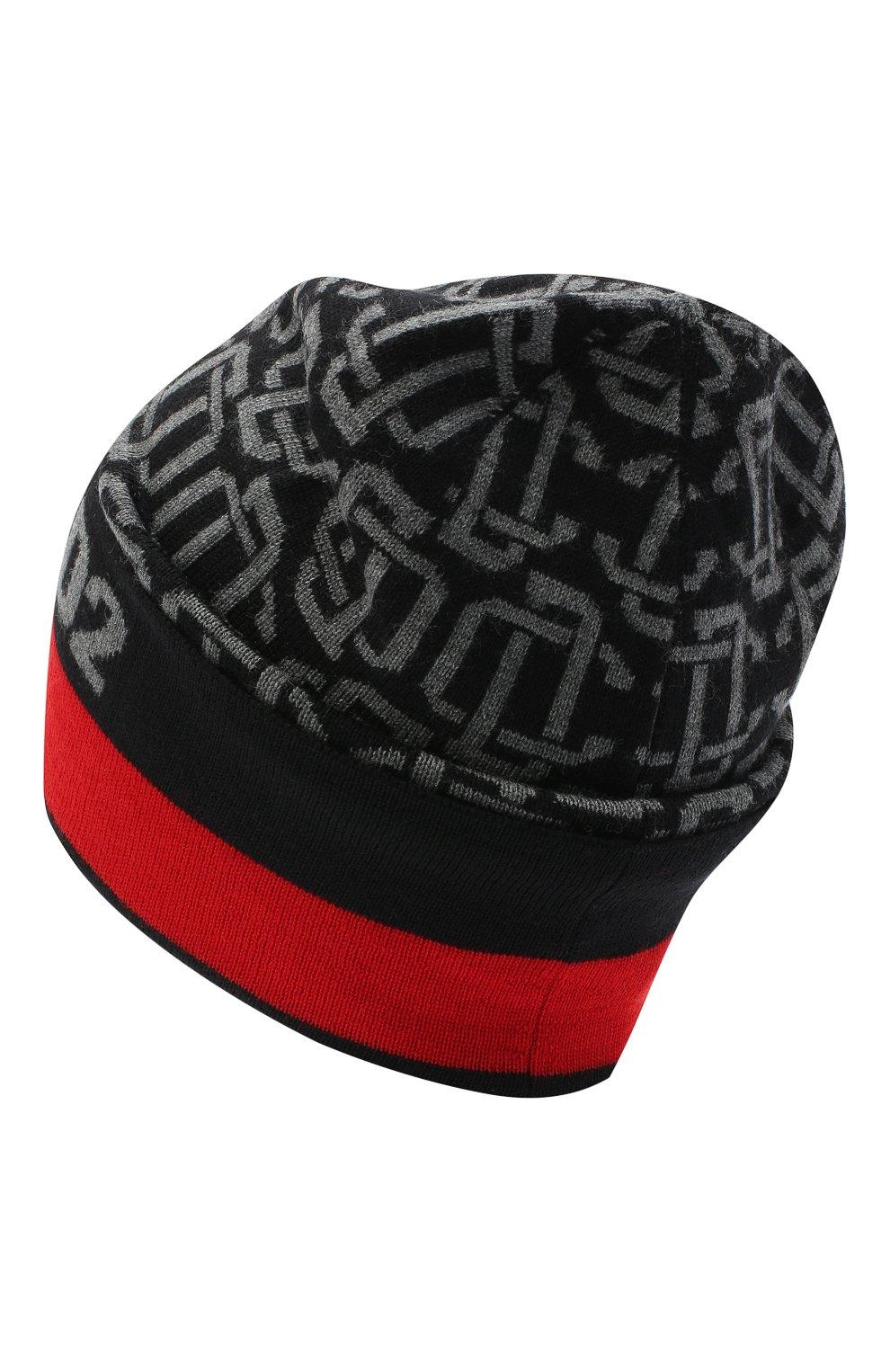 Мужская шерстяная шапка DSQUARED2 разноцветного цвета, арт. KNM0054 01W03172 | Фото 2