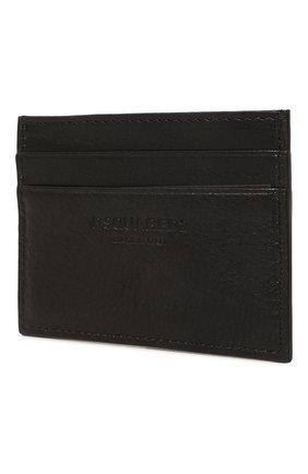 Мужской кожаный футляр для кредитных карт icon DSQUARED2 черно-белого цвета, арт. CCM0005 12903205 | Фото 2