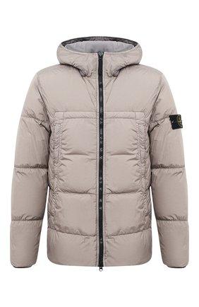 Мужская пуховая куртка STONE ISLAND серого цвета, арт. 731540723 | Фото 1