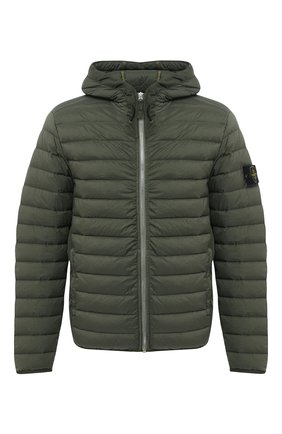 Мужская пуховая куртка STONE ISLAND темно-зеленого цвета, арт. 731541125 | Фото 1