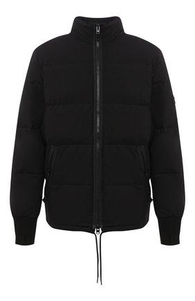 Мужская пуховая куртка KENZO черного цвета, арт. FA650U1281NI   Фото 1