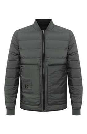 Мужская двусторонняя куртка KENZO черного цвета, арт. FA65BL1111NF   Фото 1