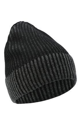 Мужская шерстяная шапка KENZO серого цвета, арт. FA68BU117KEJ | Фото 1