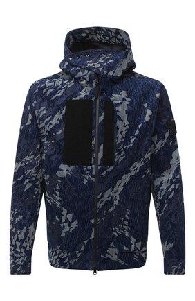 Мужская хлопковая куртка STONE ISLAND SHADOW PROJECT темно-синего цвета, арт. 7319402I4 | Фото 1