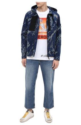 Мужская хлопковая куртка STONE ISLAND SHADOW PROJECT темно-синего цвета, арт. 7319402I4 | Фото 2
