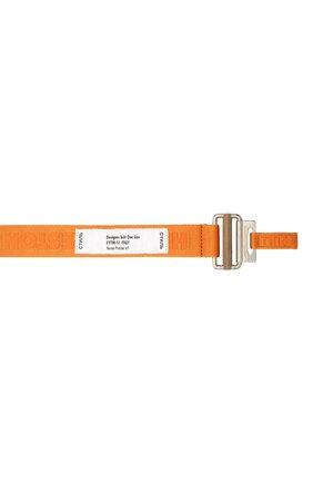 Мужской текстильный ремень HERON PRESTON оранжевого цвета, арт. HMRB007F20MAT0012276   Фото 3