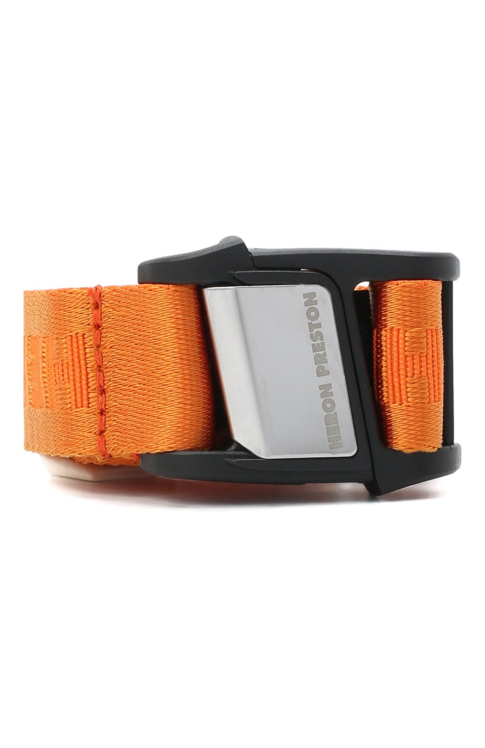 Мужской текстильный ремень HERON PRESTON оранжевого цвета, арт. HMRB013F20MAT0012200 | Фото 1