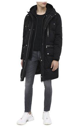 Мужские джинсы BALMAIN темно-серого цвета, арт. UH15230/Z111   Фото 2