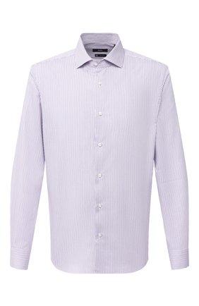 Мужская сорочка BOSS сиреневого цвета, арт. 50440215 | Фото 1