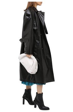 Женские кожаные ботильоны ALEXANDER MCQUEEN черного цвета, арт. 633486/WHWQ1 | Фото 2