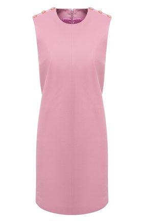 Женское кожаное платье GUCCI фиолетового цвета, арт. 624447/XNAEX | Фото 1