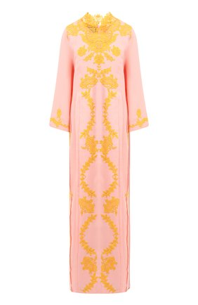 Женская льняная туника GUCCI светло-розового цвета, арт. 599381/XDA0N   Фото 1