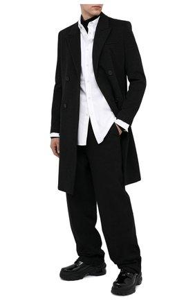 Мужская хлопковая рубашка BOTTEGA VENETA белого цвета, арт. 627781/VKU90 | Фото 2