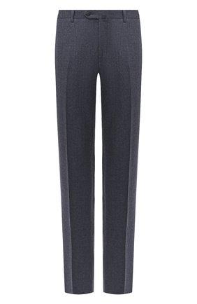 Мужской шерстяные брюки CORNELIANI синего цвета, арт. 865C04-0818111/02 | Фото 1