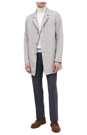 Мужской шерстяные брюки CORNELIANI синего цвета, арт. 865C04-0818111/02 | Фото 2
