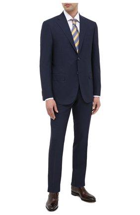 Мужской шерстяной костюм CORNELIANI темно-синего цвета, арт. 867268-0818414/92 Q1 | Фото 1