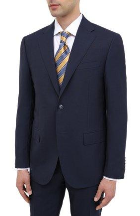 Мужской шерстяной костюм CORNELIANI темно-синего цвета, арт. 867268-0818414/92 Q1 | Фото 2