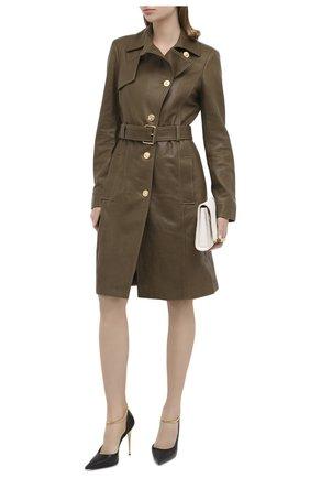 Женская кожаные туфли TOM FORD черного цвета, арт. W2613T-LCL097 | Фото 2