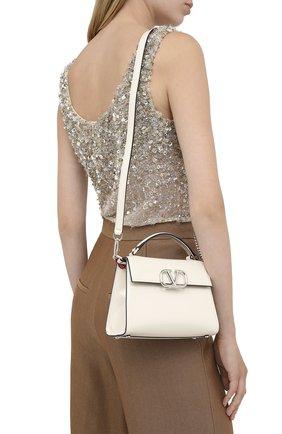 Женская сумка valentino garavani vsling VALENTINO белого цвета, арт. UW2B0G97/BIY | Фото 2