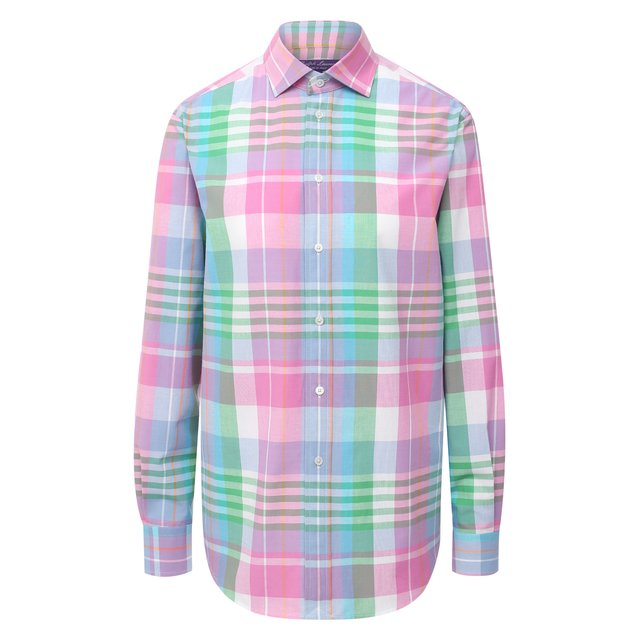 Хлопковая рубашка Ralph Lauren