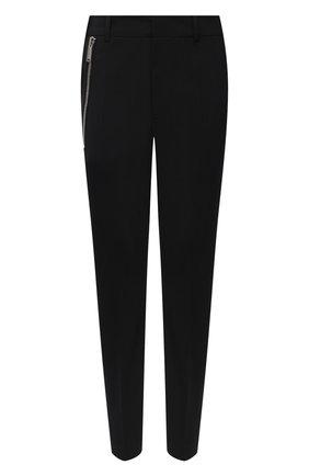 Женские шерстяные брюки DSQUARED2 черного цвета, арт. S75KB0152/S40320 | Фото 1