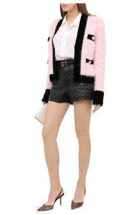 Женская кожаные туфли thandi 85 JIMMY CHOO леопардового цвета, арт. THANDI 85/L0P | Фото 2