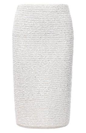 Женская юбка D.EXTERIOR кремвого цвета, арт. 51624   Фото 1