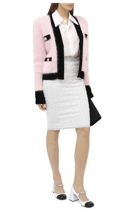 Женская юбка D.EXTERIOR кремвого цвета, арт. 51624   Фото 2