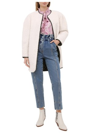 Женское пальто PHILOSOPHY DI LORENZO SERAFINI кремвого цвета, арт. A0608/5792 | Фото 2