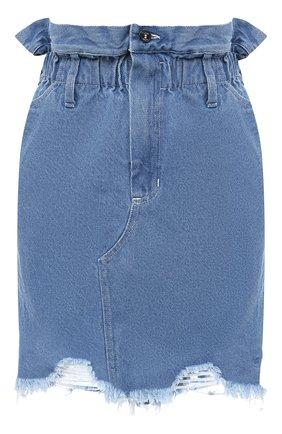 Женская джинсовая юбка RUBAN голубого цвета, арт. RSO20-5.1.410.7 | Фото 1