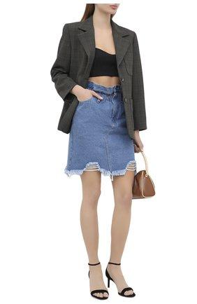 Женская джинсовая юбка RUBAN голубого цвета, арт. RSO20-5.1.410.7 | Фото 2