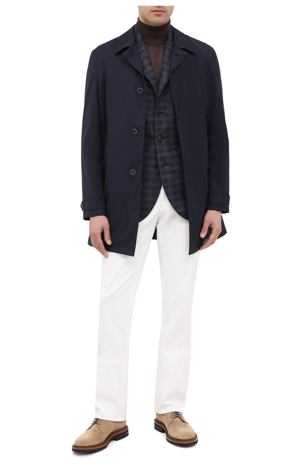 Мужской шерстяной пиджак HARRIS WHARF LONDON синего цвета, арт. C8B33MGK | Фото 2