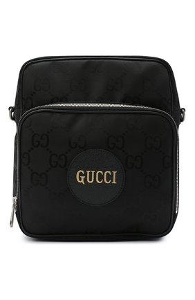Мужская текстильная сумка off the grid GUCCI черного цвета, арт. 625858/H9HBN | Фото 1
