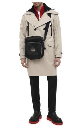 Мужская текстильная сумка off the grid GUCCI черного цвета, арт. 625858/H9HBN | Фото 2