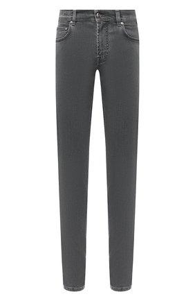 Мужские джинсы CORNELIANI темно-серого цвета, арт. 864JK2-0820143/00 | Фото 1