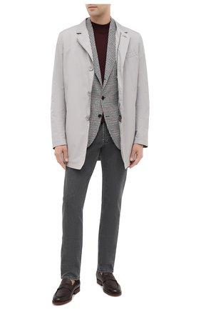 Мужские джинсы CORNELIANI темно-серого цвета, арт. 864JK2-0820143/00 | Фото 2