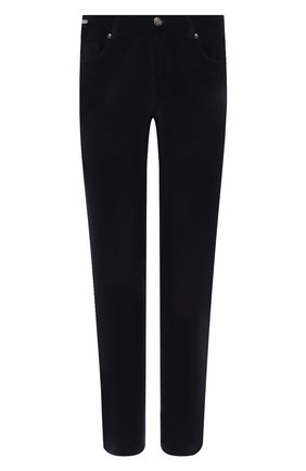 Мужской хлопковые брюки CORNELIANI темно-синего цвета, арт. 864L01-0818502/00 | Фото 1