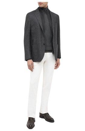 Мужской шерстяной пиджак CORNELIANI темно-серого цвета, арт. 86X528-0816318/90 | Фото 2