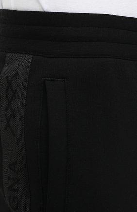 Мужские хлопковые джоггеры ZEGNA COUTURE черного цвета, арт. CVCJ02/8VJ47 | Фото 6