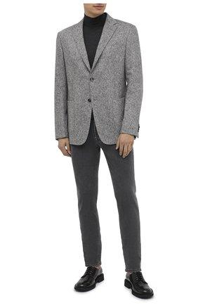 Мужской шерстяной пиджак Z ZEGNA серого цвета, арт. 854745/1VRUG0 | Фото 2