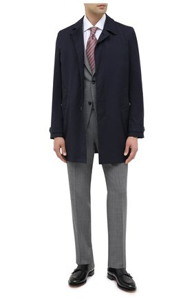 Мужской шерстяной костюм ERMENEGILDO ZEGNA серого цвета, арт. 822602/20PWKL | Фото 1