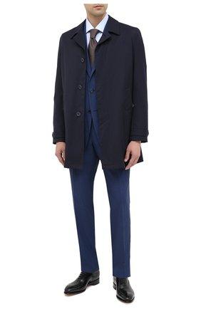 Мужской шерстяной костюм ERMENEGILDO ZEGNA синего цвета, арт. 822538/221225 | Фото 1