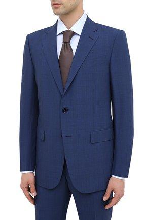 Мужской шерстяной костюм ERMENEGILDO ZEGNA синего цвета, арт. 822538/221225 | Фото 2