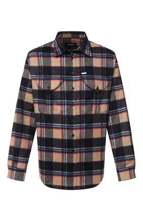Мужская рубашка DSQUARED2 разноцветного цвета, арт. S74DM0466/S53020 | Фото 1