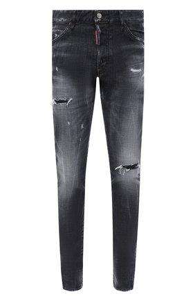 Мужские джинсы DSQUARED2 темно-серого цвета, арт. S74LB0797/S30357 | Фото 1