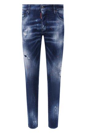 Мужские джинсы DSQUARED2 синего цвета, арт. S74LB0798/S30342 | Фото 1