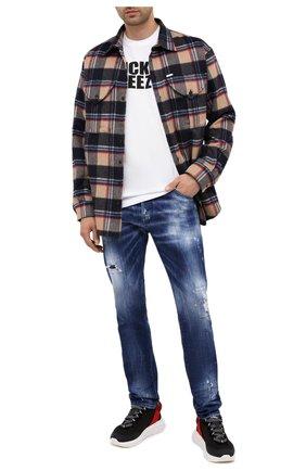 Мужские джинсы DSQUARED2 синего цвета, арт. S74LB0798/S30342 | Фото 2