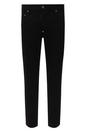 Мужские джинсы DSQUARED2 черного цвета, арт. S74LB0801/S30564 | Фото 1