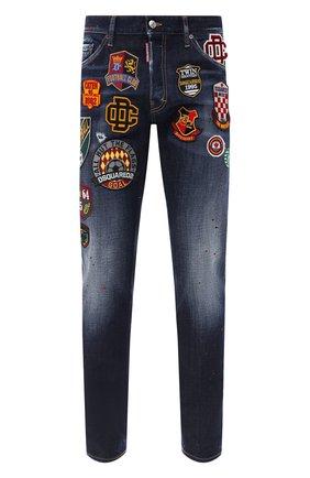 Мужские джинсы DSQUARED2 синего цвета, арт. S74LB0811/S30664 | Фото 1